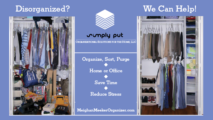 Closet Organizer Service professional home & office organizing - closets, garage, bedroom